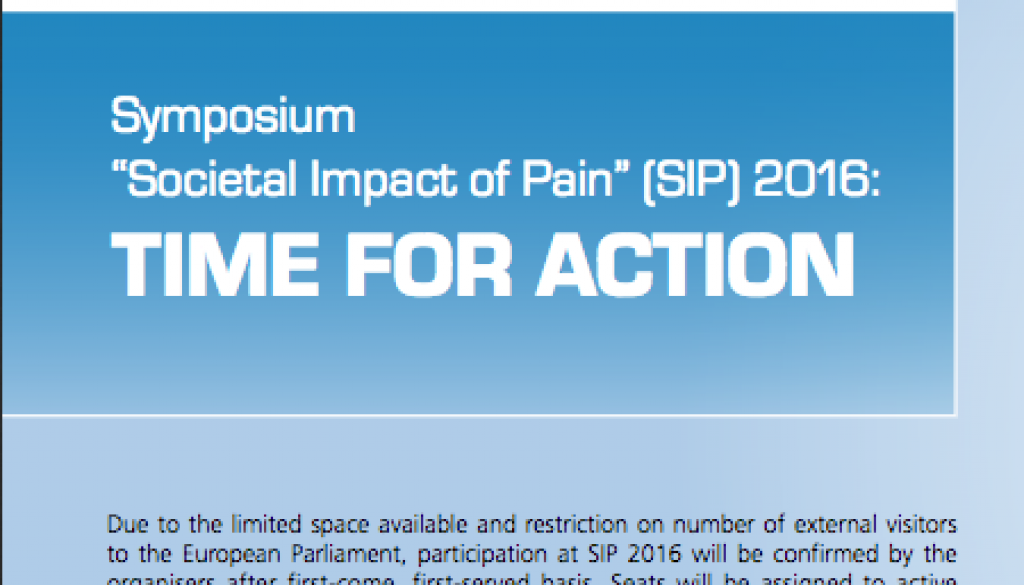 impact of pain-symposium-2016