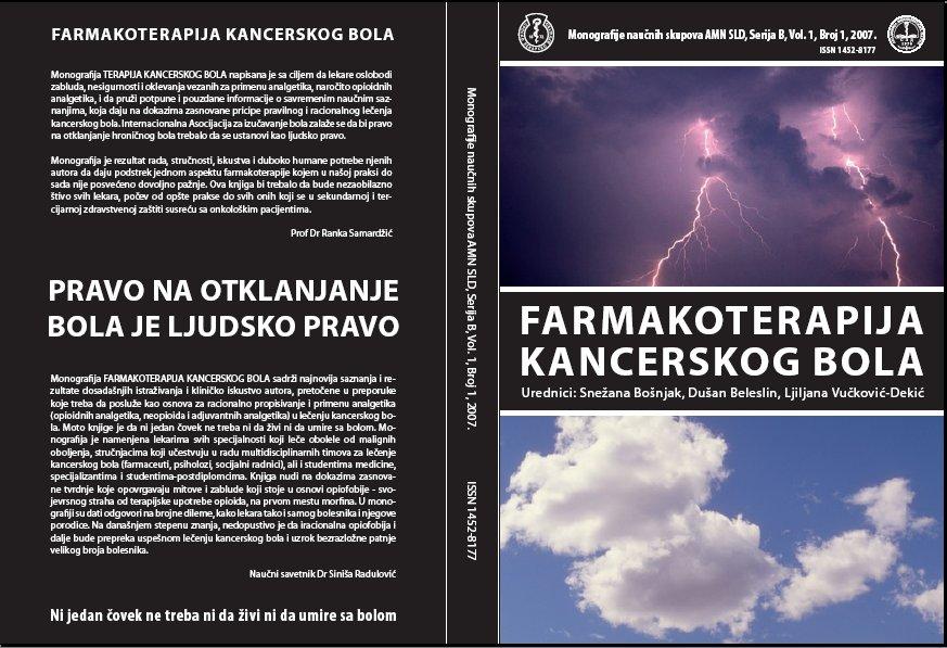 Urednici monografije: Snežana Bošnjak, Dušan B. Beleslin i Ljiljana Vučković - Dekić